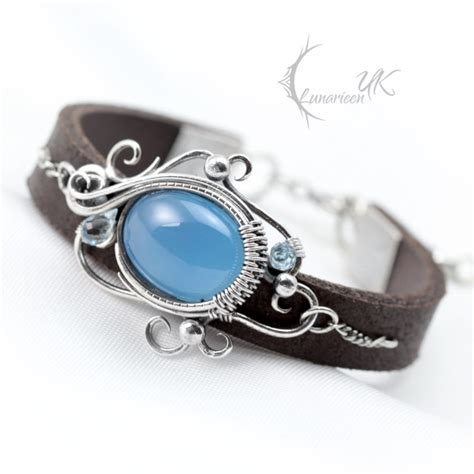 YENZTRAL, Silver and Blue Chalcedony by LUNARIEEN on DeviantArt