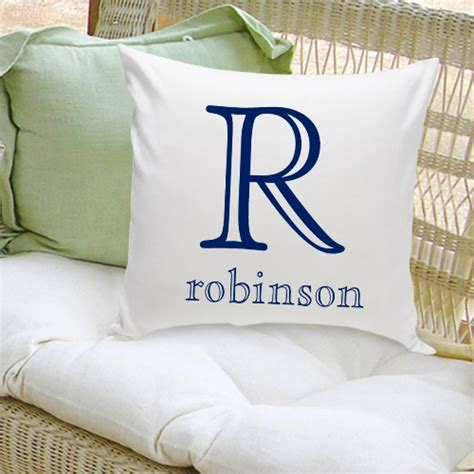 Customized Pillow by Personalized Family Name Pillow Buygifts
