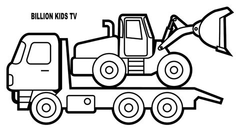 car carrier coloring page car carrier truck coloring pages murderthestout