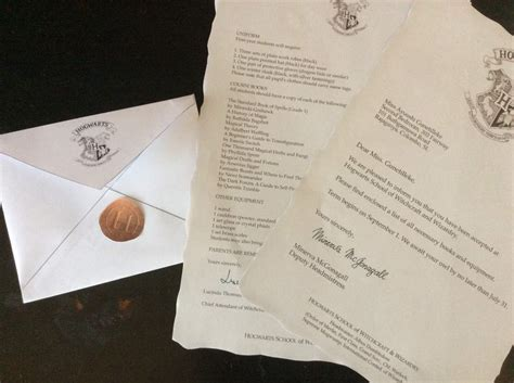 Harry Potter Acceptance Letter Tutorial Personalised Hogwarts Acceptance Letter Diy Harry Potter Amino