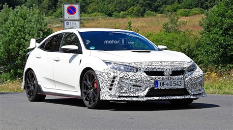 2019 Honda Civic Type R by Honda Civic 2019 Type R Facelift Spotted Covered In