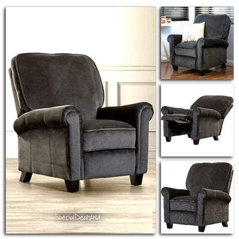 Home Recliner Chair Push Back Recliner Sofa Chair Lounge Ergonomic Furniture