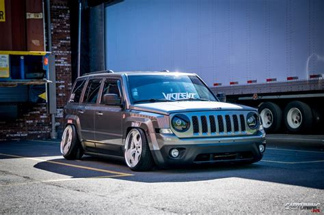 stanced jeep wrangler stanced jeep patriot 187 cartuning best car tuning photos