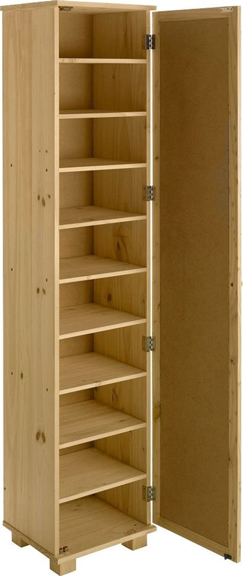 Shoe Closet With Doors Pine Shoe Cabinet With Mirror Door Projects To Try Cabinets Pine And Search