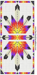 Wallet Size Photo Album Free Beading Pattern Wallet Native American Lakota Star