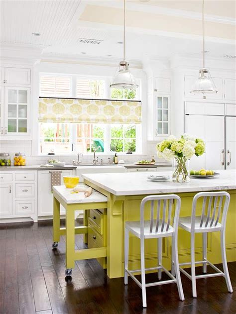 kitchen remodeling ideas bright yellow kitchen granite