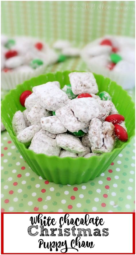 white chocolate puppy chow white chocolate puppy chow domestically creative
