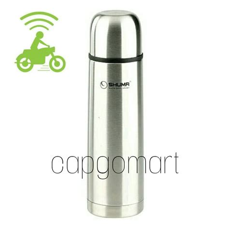 Termos Air Shuma 500 Ml Botol Minum Cte3 jual termos air panas shuma 500 ml stainless steel vacuum flask qualit cap go mart