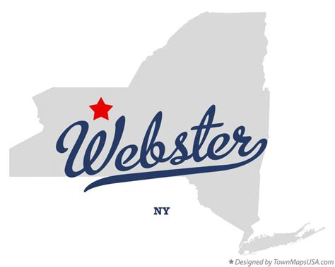 webster ny map of webster ny new york