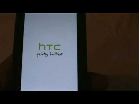Hp Htc Quietly Brilliant quietly brilliant boot screen htc cdma