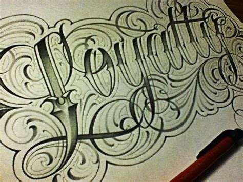 tattoo fonts youtube picturesque fancy lettering for tattoos loyalty cursive