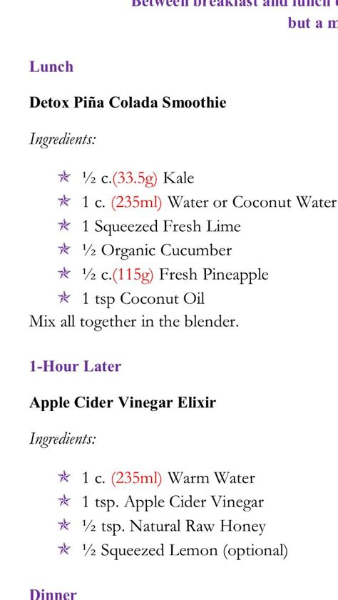 Danette May Detox Drink Tumeric And by Pin By Mcdonald On My Diet Clean