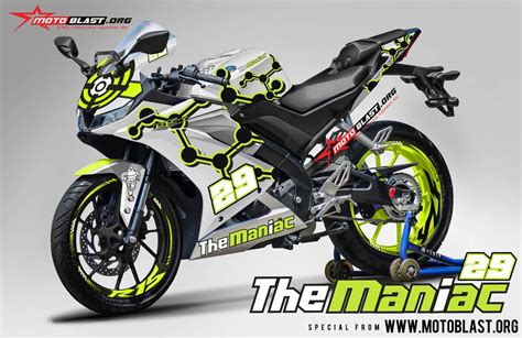 Konsep Modifikasi Motor by Konsep Modifikasi All New Yamaha R15 Iannone Warungasep