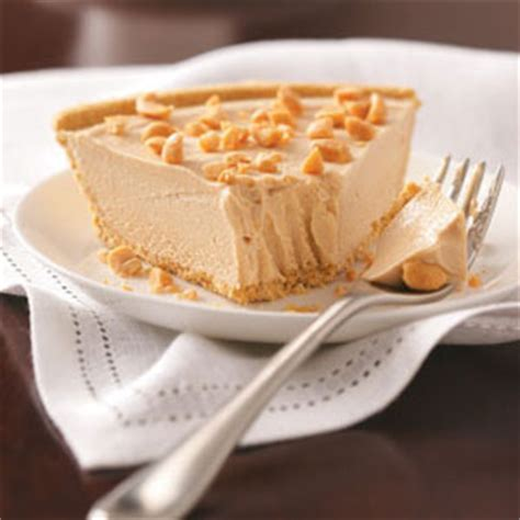 peanut butter silk pie recipe taste of home