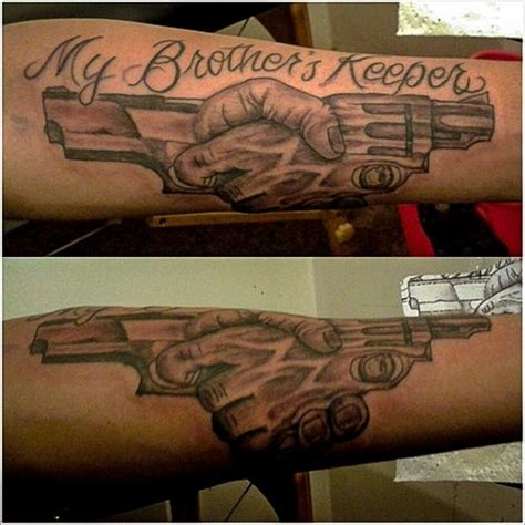 my brothers keeper tattoos