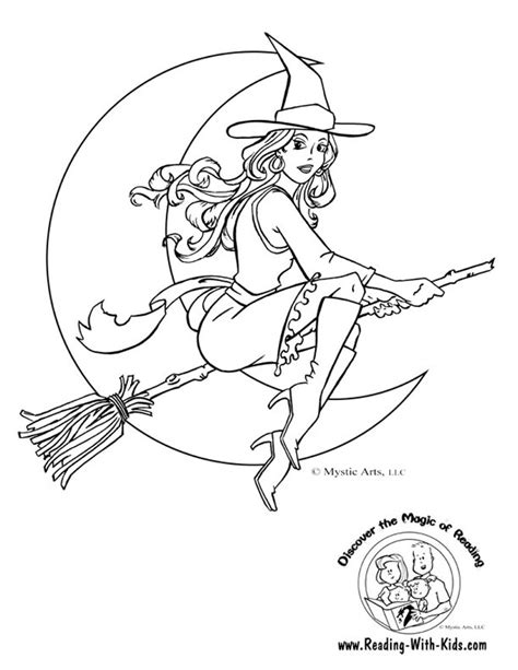 coloring page witch coloring pages of witches az coloring pages