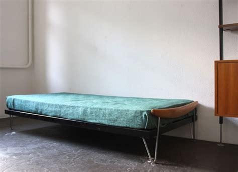 bett 50er bettgestell wohnbedarf designbutik