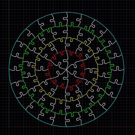 adding wiggle  jigsaw puzzles  autocad  net