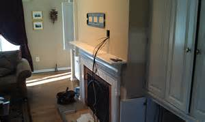hiding tv cables next to fireplace hiding wiring diagram