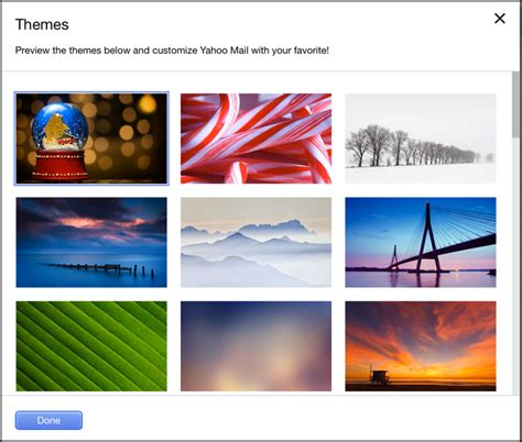 christmas themes for yahoo mail how do i customize my yahoo mail with a theme ask dave