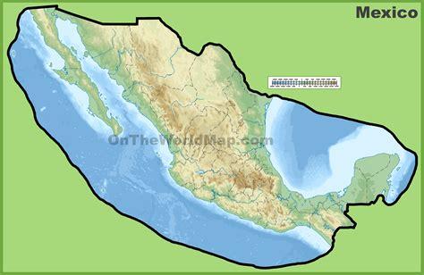 physical mexico map 100 mexico maps nayarit mexico map 6 map of nayarit
