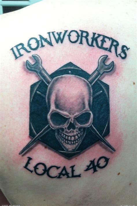 ironworker tattoos ironworker www imgkid the image kid has it