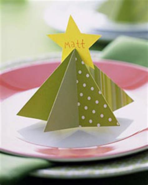 martha stewart tree instructions tree place card martha stewart