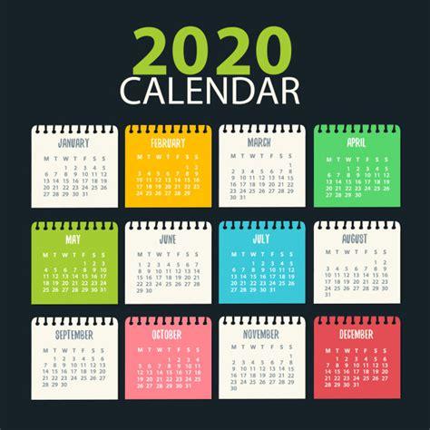 calendar design ready  print vector premium