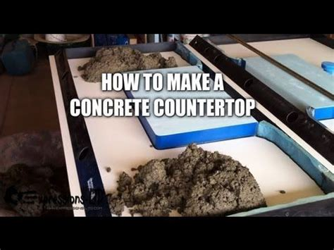 25 best ideas about concrete countertop forms on