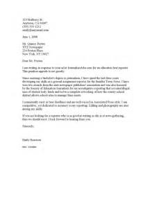Cover Letter Sles For Posting by Cover Letter Cover Letter Templates