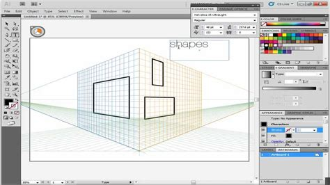 define pattern adobe illustrator how to move flat art onto the perspective grid in adobe