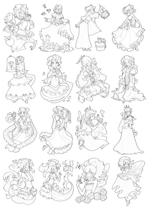 Princess Coloring Pages 19 Coloring Kids Princess Colouring Pages Gallery Images Color