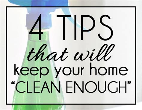 good tips on how to keep your house clean trusper 4 tips that will keep your home clean enough here comes