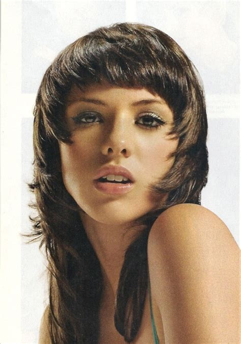 cut own hair long shag long shag hairstyle short hairstyle 2013