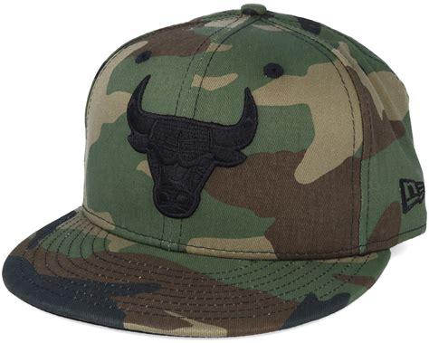 bull new era chicago bulls nba camo 59fifty fitted new era keps