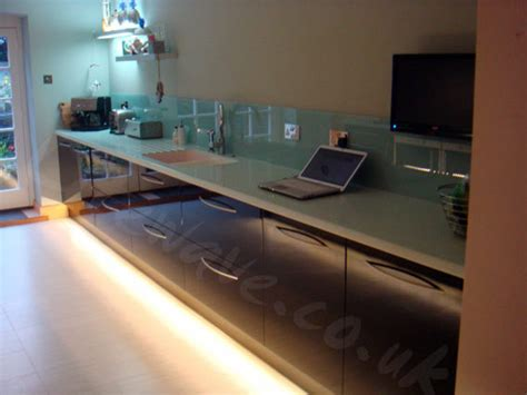 Led Tape Installed In A Customer S Kitchen Kitchen Kickboard Lights