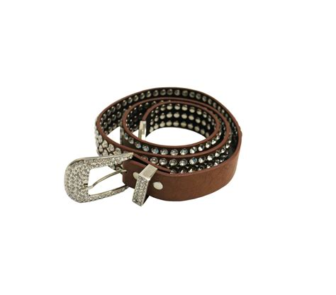 brown rhinestones belt best of everything shopping