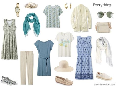 Summer Vacation Capsule Wardrobe by A 2nd 3 Dress Travel Capsule Wardrobe The Vivienne Files