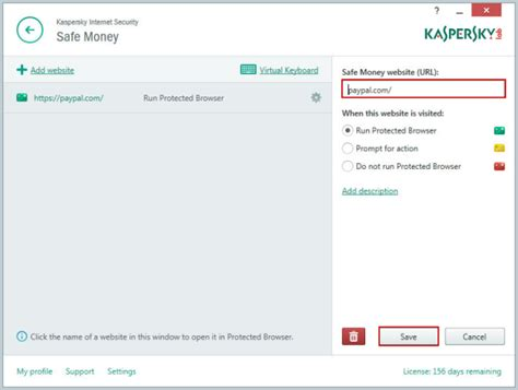 How To Make Safe Money Online - how to configure and use safe money in kaspersky internet security 2015