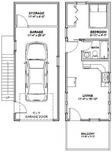 Small House Floor Plans With Garage 12x32 Tiny House 12x32h6a 461 Sq Ft Excellent