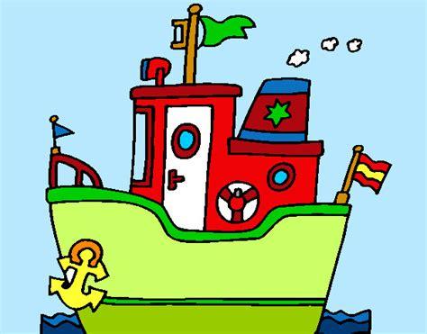 barco con ancla dibujo dibujo de barco con ancla pintado por queyla en dibujos