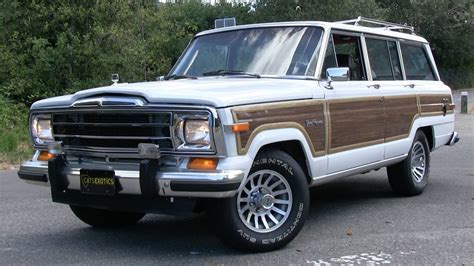 jeep wagoneer 1989 1989 jeep grand wagoneer start up test drive and in