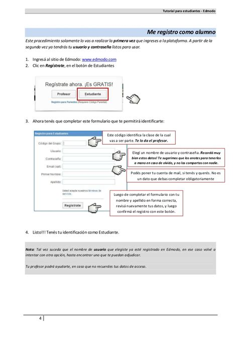 tutorial do edmodo tutorial alumnos edmodo