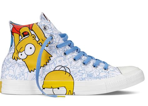 Ms Simpsons Sultry Shoes by Converse X The Simpsons Sneakers