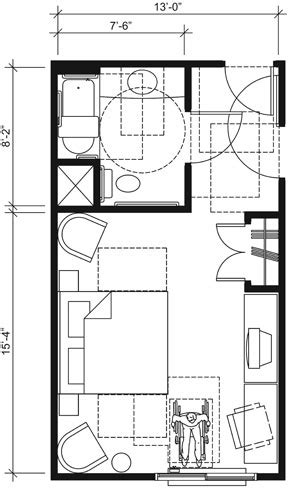 Accessible Bathroom Floor Plans by Ada Bathroom Sinks This Drawing Shows An Accessible 13