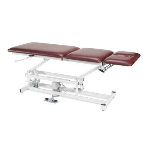 tilt table for back tilt back power lift table 3 or more section power