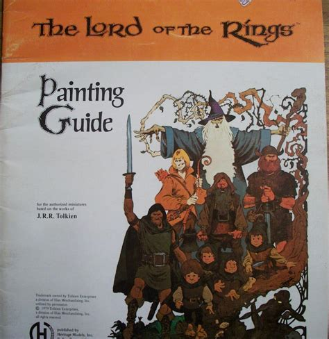 miniature painting guide gaming in the world of j r r tolkien an overview from