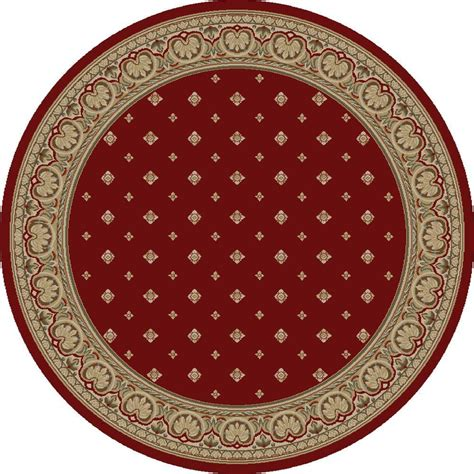 Circular Area Rugs Concord Global Trading Imperial Bergama 5 Ft 3 In Area Rug 11900 The Home Depot