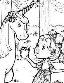 free coloring pages of unicorn with princess
