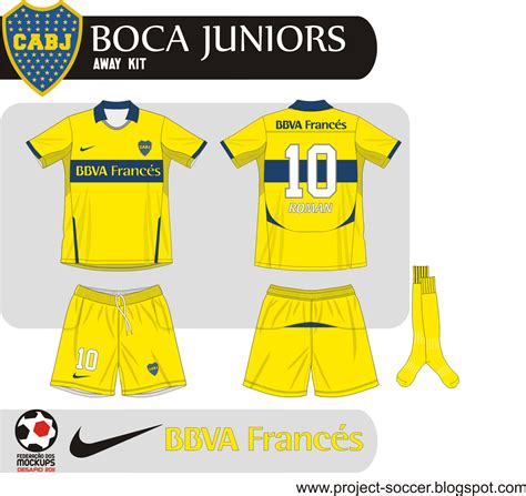 Boca Junior Away 201617 Berkualitas project soccer boca juniors desafio